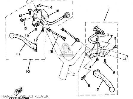 Yamaha CV50L 1984 RIVA 50 parts lists and schematics