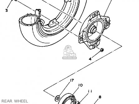 Yamaha CV80 1985 RIVA parts lists and schematics