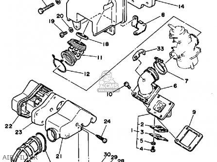 Yamaha CV80 1987 RIVA parts lists and schematics