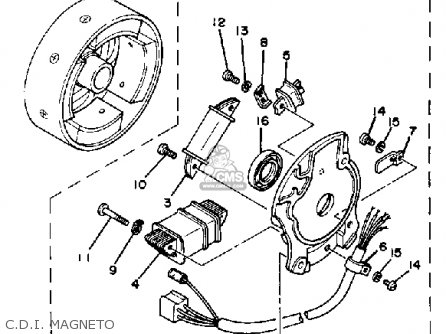Magneto Cdi Wiring Diagram, Magneto, Free Engine Image For