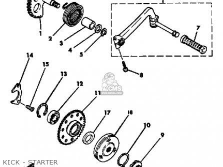 Yamaha CV80K RIVA 1983 parts lists and schematics
