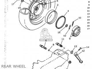Yamaha CW50 1991 4CA2 ENGLAND 214CA-310E1 parts lists and