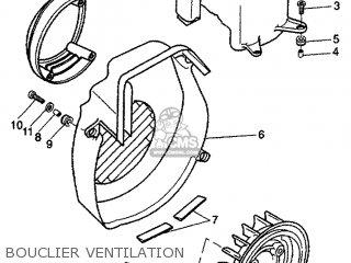 Yamaha Cw50 1999 4vvv France 194vv-351f5 parts list