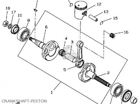 Yamaha Cw50ta Zuma 1990 parts list partsmanual partsfiche