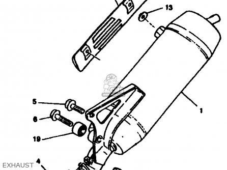 Yamaha Cw50tj 1997 parts list partsmanual partsfiche