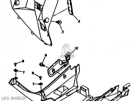 Yamaha CW50TJ 1997 parts lists and schematics