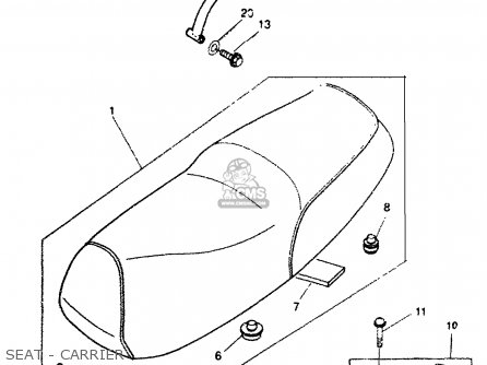 Yamaha CW50TL 1999 USA parts lists and schematics