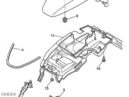 Yamaha CW50TM 2000 parts lists and schematics