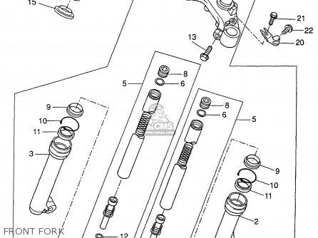 Yamaha CW50TN 2001 parts lists and schematics