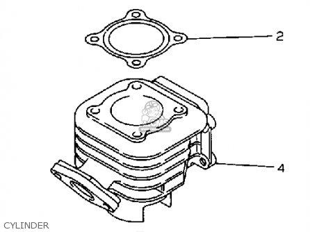 Yamaha CW50W 1989 3ES1 ZUMA USA parts lists and schematics
