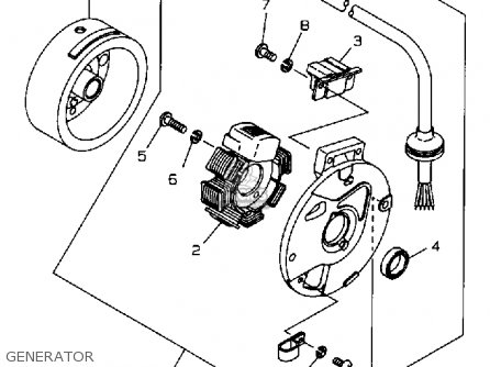 Zuma Carburetor Schematic, Zuma, Free Engine Image For