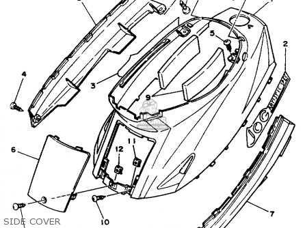 Yamaha Cy50d 1992 Cy50e 1993 Jog Usa parts list