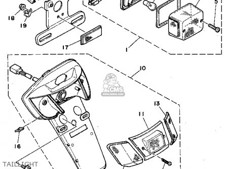 Yamaha CY50F 1994 parts lists and schematics