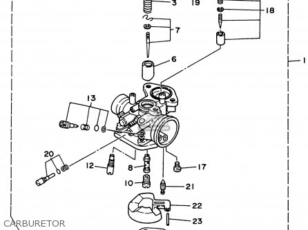 Yamaha CY50K 1998 parts lists and schematics