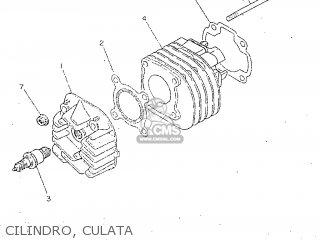 Yamaha CY50R 1998 3WG7 SPAIN 283WG-352S1 parts lists and