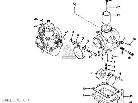 Yamaha Ds6b 1969 Usa parts list partsmanual partsfiche