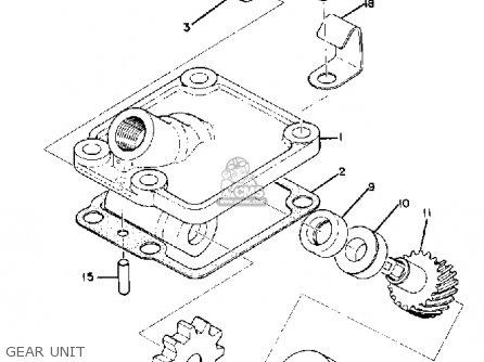 Yamaha Ds6c 1970 Usa parts list partsmanual partsfiche
