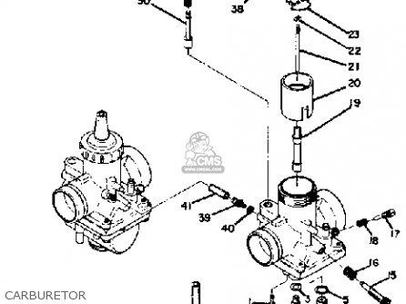 Yamaha Ds7 1972 parts list partsmanual partsfiche