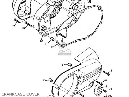 Yamaha Ds7 1972 parts list partsmanual partsfiche