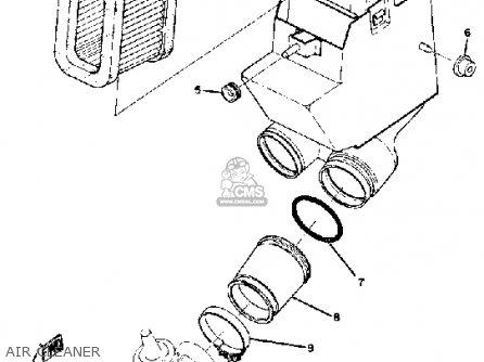 Yamaha Ds7 1972 Usa parts list partsmanual partsfiche