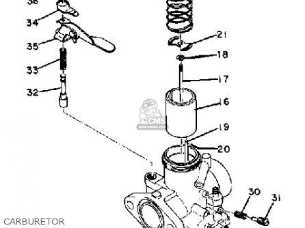 Yamaha Dt1 1968 parts list partsmanual partsfiche
