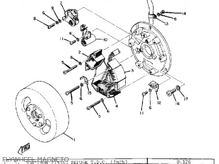 Yamaha DT1 1968 USA parts lists and schematics