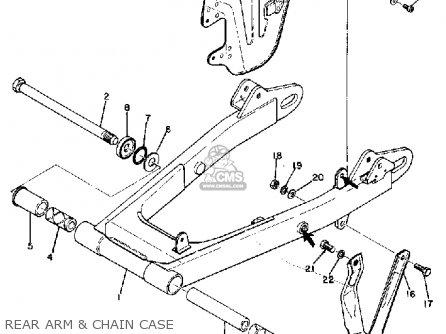 Yamaha DT1 1968 USA parts lists and schematics