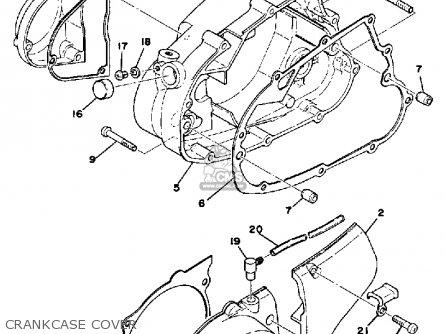 Yamaha DT100 1976 USA parts lists and schematics