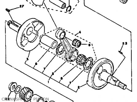 Yamaha DT100 1978 USA parts lists and schematics