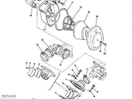 Yamaha DT100 1980 (A) USA parts lists and schematics
