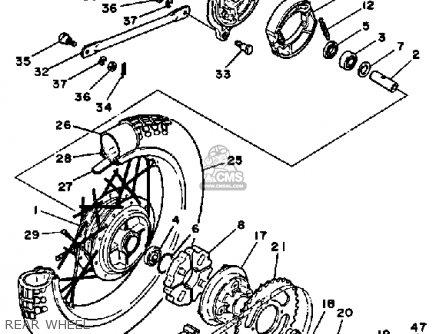 Wiring Diagram 1973 Yamaha 175 Custom Yamaha 175 Wiring