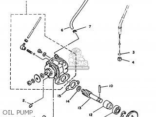 Yamaha DT125 1987 2AJ SPAIN 272AJ-352S1 parts lists and