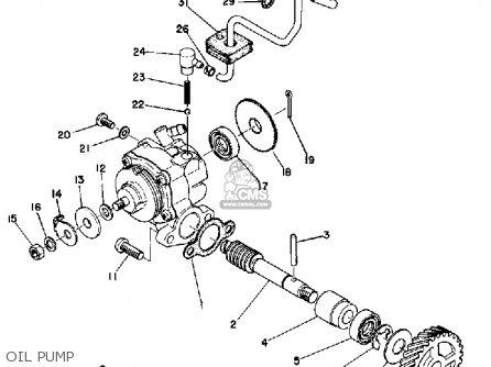 Yamaha Dt125b 1974/1975 parts list partsmanual partsfiche