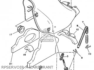 Yamaha DT125E 1993 4BL3 FRANCE 234BL-351F1 parts lists and