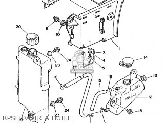 Yamaha DT125E 1994 4BL4 FRANCE 244BL-351F1 parts lists and