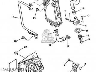 Yamaha DT125LC 1986 35A ENGLAND 2635A-310E1 parts lists