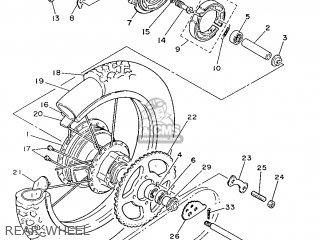 Yamaha DT125LC 1987 57U FRANCE 2757U-351F1 parts lists and