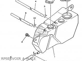 Yamaha DT125LCF (22PS) 1986 57U FRANCE 2657U-351F1 parts