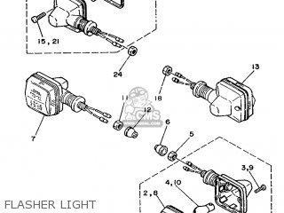 Yamaha Dt125mx 1991 3yv1 France 213yv-351f1 parts list