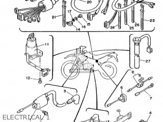 Yamaha DT125R 1988 3BN1 EUROPE 283BN-300E1 parts lists and