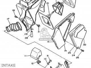 Yamaha DT125R 1988 3DB1 ENGLAND 283DB-310E1 parts lists