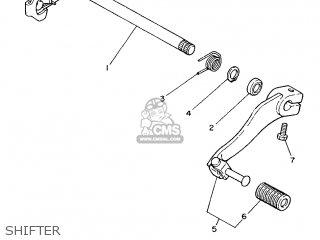 Yamaha DT125R 1990 3NC2 FRANCE 203NC-351FA parts lists and