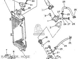 Yamaha DT125R 1991 3PY3 ITALY 213PY-354E1 parts lists and