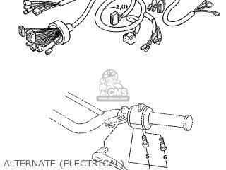 Yamaha DT125R 1991 3RM3 EUROPE 213RM-300E1 parts lists and