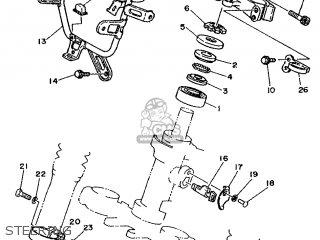 Yamaha DT125R 1992 3RM4 EUROPE 223RM-300E1 parts lists and