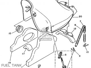 Yamaha DT125R 1995 3RM7 EUROPE 253RM-300E1 parts lists and