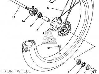Yamaha DT125R 1998 3RMB GERMANY 283RM-332G1 parts lists