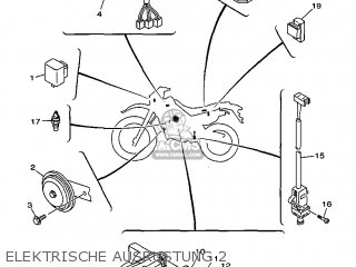 Yamaha DT125R 1999 3RMD GERMANY 293RM-332GA parts lists