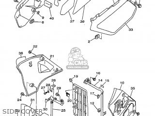 Yamaha DT125R 1999 3RME ENGLAND 293RM-300EA parts lists