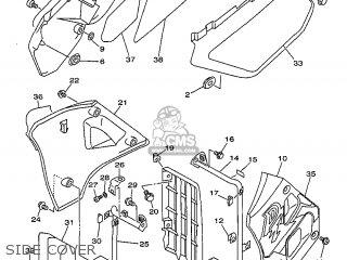 Yamaha DT125R 1999 3RME GERMANY 293RM-332GA parts lists